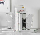 Pottery Barn Kids Butterfly Mirrored Bookends