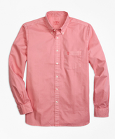 Brooks Brothers Garment-Dyed Sport Shirt