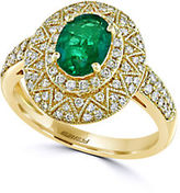 Effy Brasilica Emerald, Diamond and 14K Yellow Gold Ring