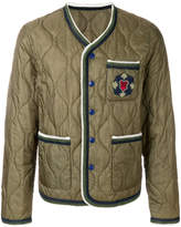 Ermanno Scervino quilted county jacket