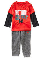 Under Armour Baby Boys 12-24 Months Nothing Can Stop Me Tee & Pants Set