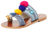 Antik Batik Koshi Embroidered Sandal