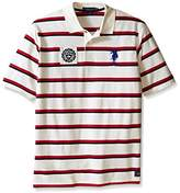 U.S. Polo Assn. Men's Big-Tall Sporty Tri-Stripe Pique Polo Shirt