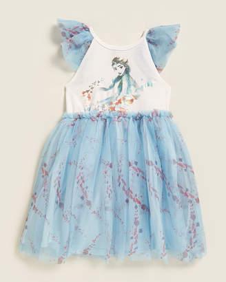 Pippa & Julie Girls 4-6x) Flutter Sleeve Tutu Dress