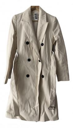 Drykorn White Cotton Coats