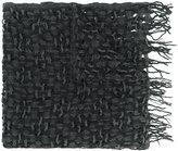 Y's fringed scarf