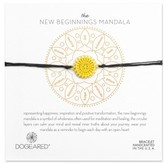 Dogeared Women's The New Beginnings Mandala Bracelet