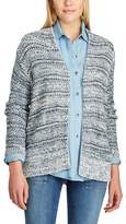 Chaps Women's Marled Open-Front Cardigan