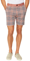 Trina Turk Rocky Herringbone Plaid Shorts