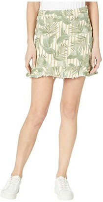 Show Me Your Mumu Kai Skirt (Bamboo Palm) Women's Skirt