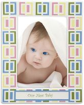 Gorham Pitter Patter Our New Baby 5-Inch x 7-Inch Picture Frame
