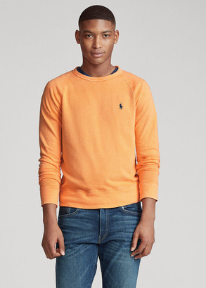 Ralph Lauren Cotton Spa Terry Sweatshirt