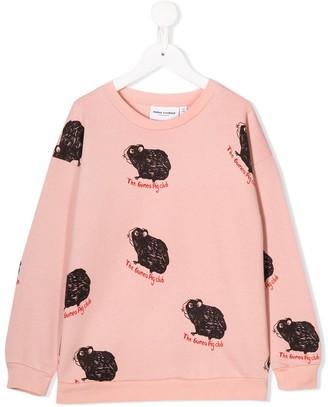 Mini Rodini Guinea Pig Print Sweatshirt