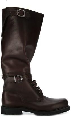Holland & Holland Buckled Knee Length Boots