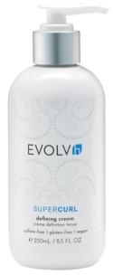 Evolvh SuperCurl Defining Cream, 8.5 Oz