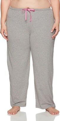 Hue Women's Plus Size Mini Scribble Long Pajama Pant