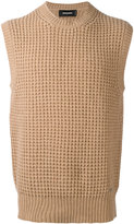 DSQUARED2 knitted sleeveless top - men - Wool - S