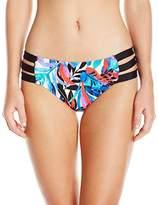 Jantzen Women's Tropic Nights Strappy Bikini Bottom
