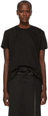 MONCLER GENIUS 6 Moncler Noir Kei Ninomiya Black Lace-Up T-Shirt