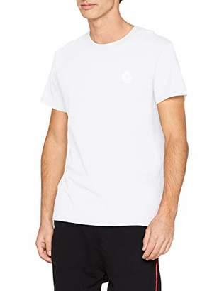 Cheap Monday Men's Standard tee Tiny Skull Invert T-Shirt, White, Large (Size:L)