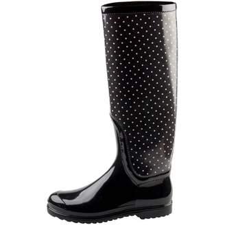 Dolce & Gabbana Black Plastic Boots