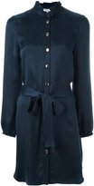 Opening Ceremony belted shirt dress - women - Cupro - 2