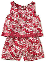 Copper Key Big Girls 7-16 Floral-Print Romper