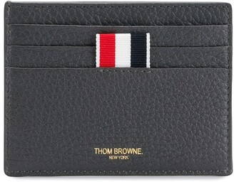 Thom Browne double-sided cardholder with note compartment