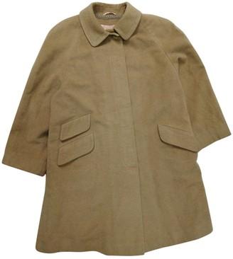 Aquascutum London Brown Fur Coat for Women