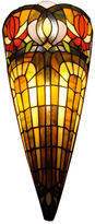 AMORA Amora Lighting AM1079WL10 Tiffany Style 2-light Wall Crowned Sconce