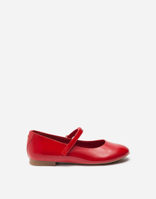 Dolce & Gabbana Patent Leather Mary Jane Ballet Shoe