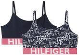 Tommy Hilfiger Girls Printed String Bralette