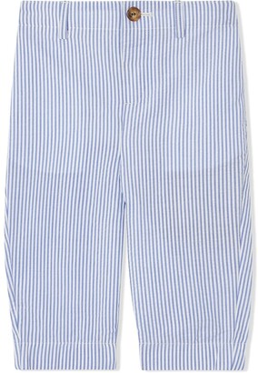 Burberry striped tailored trousers
