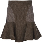 Stella Mccartney pleated panel skirt