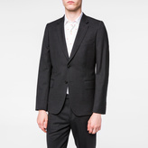 Paul Smith Men's Tailored-Fit Charcoal Grey 'A Suit To Travel In' Wool Blazer