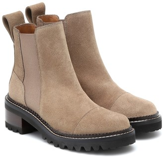 See by Chloe Mallory ankle boots