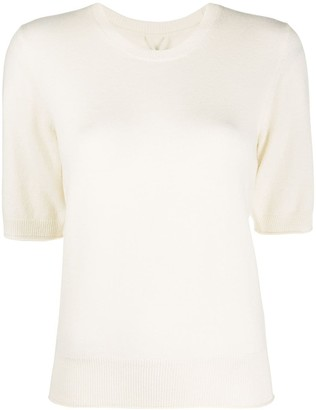 Max & Moi Knitted Short Sleeve Top