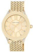 Anne Klein Women's Mesh Strap Watch, 30Mm
