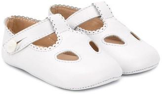 La Stupenderia Mary Jane crib shoes