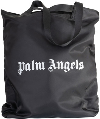 Palm Angels Logo Printed Shopper Bag