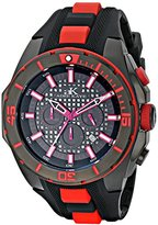 Adee Kaye Men's AK6367-RD Axes Collection Analog Display Japanese Quartz Red Watch
