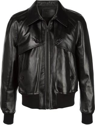 Givenchy Leather Bomber Jacket
