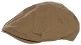Mantaray Khaki Textured Flat Cap