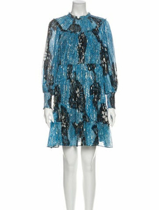 Ulla Johnson Emmeline Dress Mini Dress w/ Tags Blue