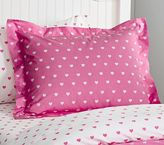 Pottery Barn Kids Organic Heart Duvet Cover
