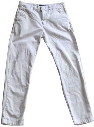 Ralph Lauren White Cotton Trousers