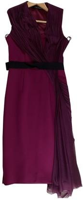 Amanda Wakeley Burgundy Dress for Women