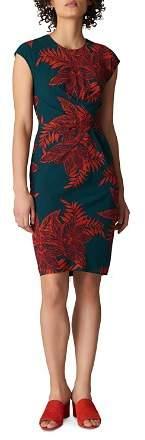 Whistles Palmyra Print Stretch-Silk Dress