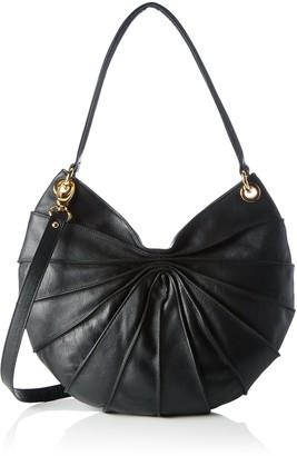 Kaviar Gauche Womens Lamella Semi Double Handle Cross-Body Bag
