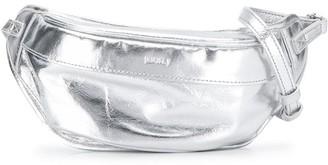 Juun.J Logo Embossed Belt Bag